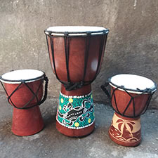 wholesale bali handicrafts djembe instruments musical handmade and hand carved