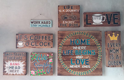 wholesale bali vintage hand carved wooden wall signs, vintage wall decor and vintage home decor, manufacture vintage wall signs