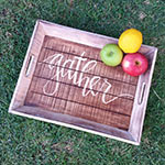 wholesale bali vintage hand carved wooden wall signs - vintage wall decor and home decor - hand carved wooden trays